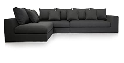 Amazon.com: UrbanMod Modern Reversible Sectional Sofa Gray 120\