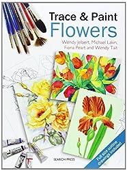 Trace & Paint Flowers