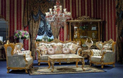 George versailles classic traditional furniture living for Classic furniture uae