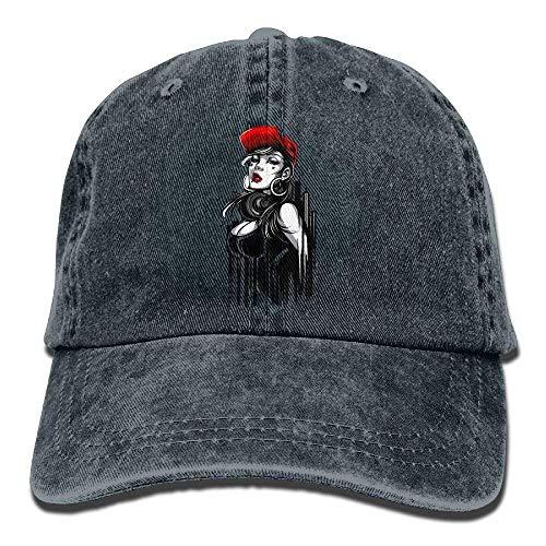 Hat for Cowgirl Cowboy DEFFWB Skull Women Denim Hats Sex Women Sport Cap Men Zqqvdw