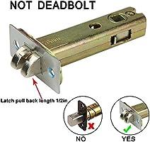 Only for The Door Opens Inward /& Need to Drill Additional 4 Holes Hangcheng Left Handed Door Combination Code Door Lock with Accent Lever Safety Keypad Lockset for Door-Not Deadbolt