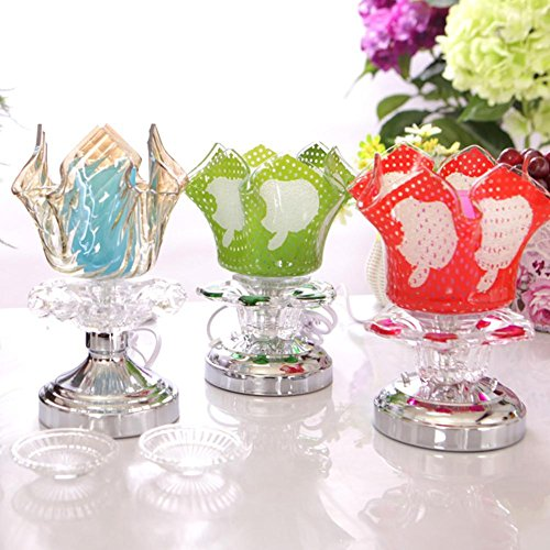 DMMSS Induction/Apple Fragrance Lamp/Fresh Gift Fragrance Lamps/Hotel/Rooms/Desk Top/Glass/Small Table Lamp£¨ 3 Sets£