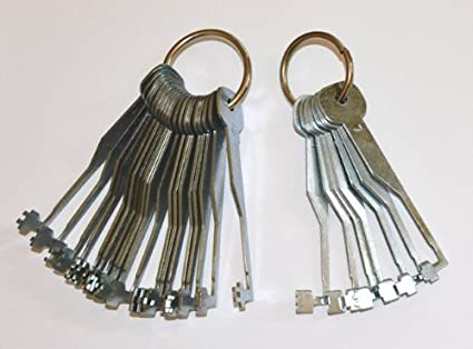 Mortice lock try out keys