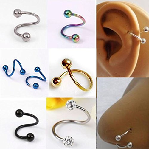 Nose Ring Twist - 7