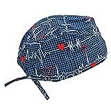 Scrub Cap Medical Doo Rag Hat For a Doctor Nurse Veterinarian Dentist Athlete