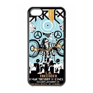 Skrillex iPhone 5c Cell Phone Case Black yyfabd-192494
