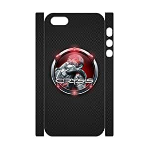 Classic Case Crysis pattern design For Apple iPhone 5,5S(3D) Phone Case