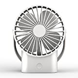 GLJ Usb Mini Quiet Small Electric Fan Office Student Handheld Portable Rechargeable fan