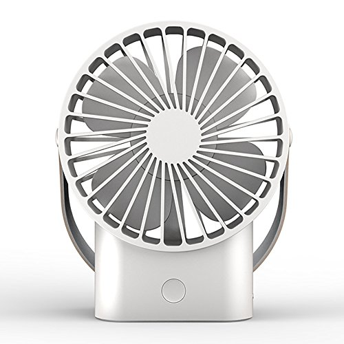 GLJ Usb Mini Quiet Small Electric Fan Office Student Handheld Portable Rechargeable fan by GLJ