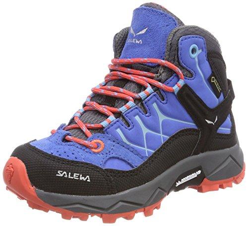 Salewa Coral Trainer Blue Gtx Mixte Randonnée Alp Enfant Hot royal 3428 Jr Hautes Chaussures Bleu Mid De rSWZrnU