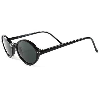 41d44cd3f9c2 Amazon.com  Old Fashioned Retro Hip 70s Mens Womens Small Round Sunglasses   Clothing