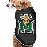 WG Cool Marshall University The Thundering Herd Dog Shirt Black...