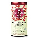 The Republic Of Tea Organic Goji Berry Green Superfruit Tea, 50 Tea Bag Tin