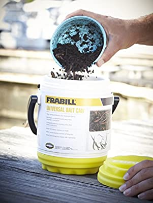 Frabill Dual Compartments Crawler Can