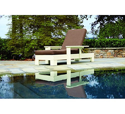 Uwharrie Chair Co 1082-13-White-Dist-Pine Original Chaise Lounge, (Original White Outdoor Chaise Lounge)