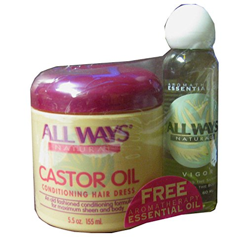 All Ways Natural Castor Oil Conditioning Hair