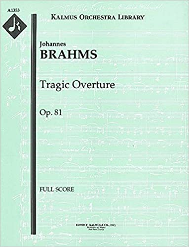 Tragic Overture for orchestra, Op.81