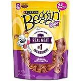 Purina Beggin' Strips Bacon Flavor Dog Treats - 25 oz. Pouch (2 Pack)