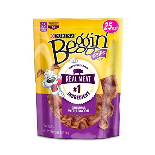 Purina Beggin Strips Bacon Flavor Dog Treats - (2) 25 Oz. Pouches