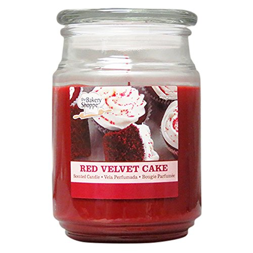 Bakery Shoppe 18 Oz Scented Candle- Red Velvet Cake 6187447
