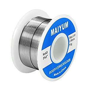 MAIYUM 63-37 Tin Lead Rosin core solder wire for electrical soldering from Shenzhen joycefook technology Co., Ltd