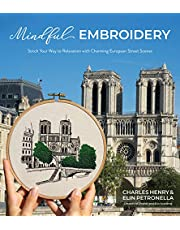 Mindful Embroidery: Stitch Your Way to Relaxation with Charming European Street Scenes