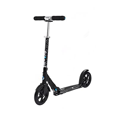 Micro Black Scooter : Sports Scooter Equipment : Sports & Outdoors