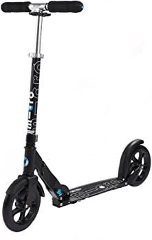 Micro White and Black Kick Scooter