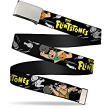 The Flintstones Cartoon Animated Series TV Show Fred Bowling Web Belt