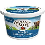 Organic Valley Organic Lowfat 2 Percent Cottage Cheese, 16 Ounce -- 6 per case.