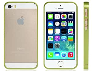 Ultra-slim Metal Bumper for iPhone 5S/5 (Green)