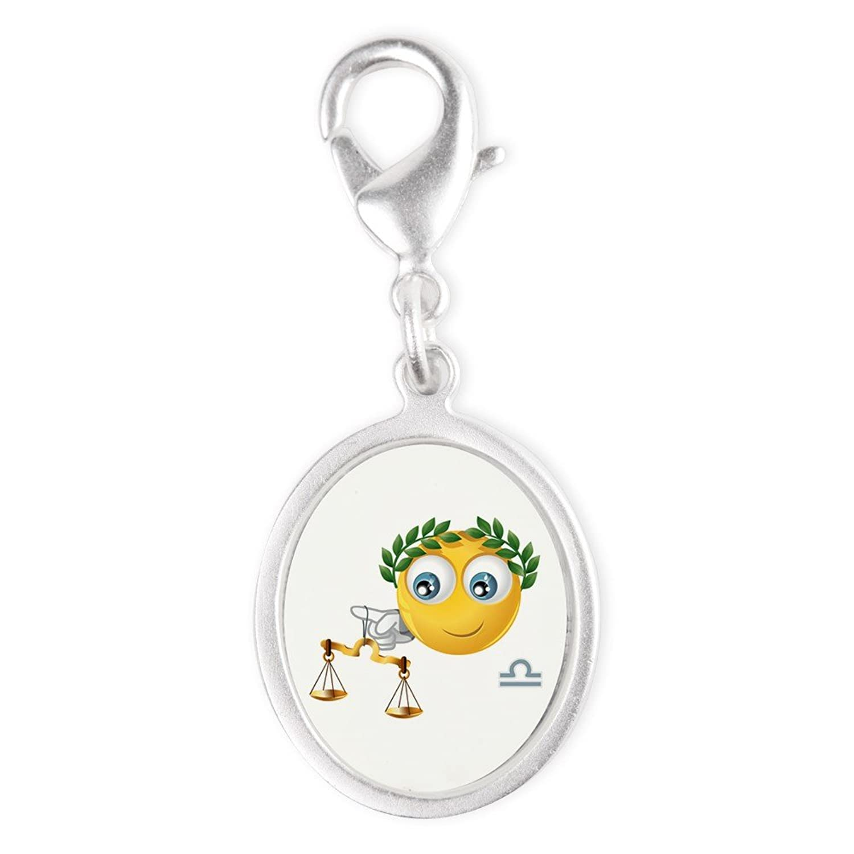 7fe913e5ad6188 Silver Oval Charm SmileyFace Zodiac Libra 70%OFF - lagrouprealty.com