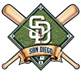MLB San Diego Padres High Definition Clock