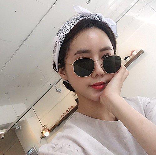 Gafas zhenghao De Mujer para Sol Marco De Metal Hombre C4 Sol Gafas Xue De c1 IPHWdIq