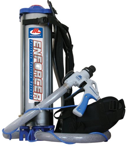 MARSHALLTOWN The Premier Line E400 The Enforcer Portable Texture Sprayer by MARSHALLTOWN The Premier Line