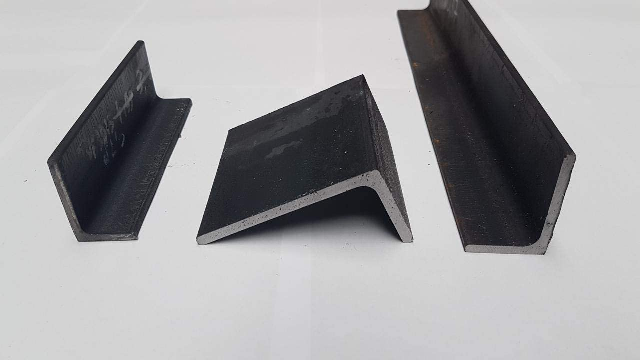 L = 500-2000mm 60x30x6-500 mm Winkelstahl Winkeleisen Winkelprofil Winkel 50x30x5-200x100x10mm S235JR EN 10056