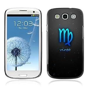 Graphic4You Virgo Zodiac Horoscope Sign Design Hard Case Cover for Samsung Galaxy S3 S III