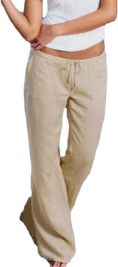 Mujer Pantalones Bootcut Pantalones Casual Cintura Alta Fitness Pantalon Acampanados Elegantes Pantalones Comodos Suaves Pantalones Modernos Mujeres Sports Danza Partywear Amazon Es Ropa Y Accesorios