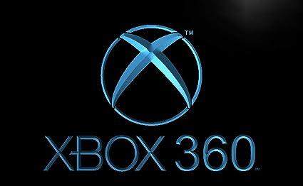 Amazon com: XBox 360 Game Store Led Light Sign: Home & Kitchen