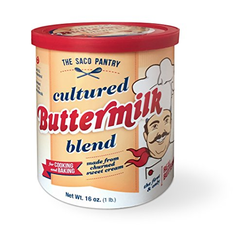 Saco Cultured Buttermilk Blend, 16-Ounce Canister (Pack of 3) by SACO