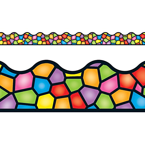 TREND enterprises, Inc. Stained Glass Terrific Trimmers, 39 ft