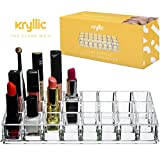 Acrylicase® Acrylic Makeup and Lipstick Organizer Brush Holder Beauty Container 24 Space Storage