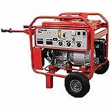 Multiquip GA6HR Generator Honda GX340 Ground Fault Circuit Interrupter Wheel Kit, 6kW, Red