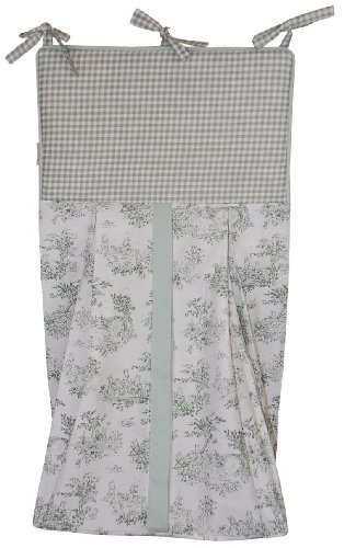 r Stacker, Sage (Classic Toile Crib Set)