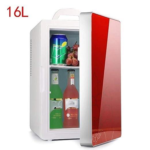 wangt Refrigerador del Coche 16L,Gran Capacidad Mini Nevera ...