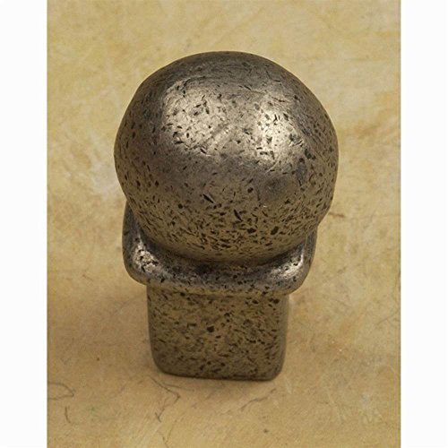 Une Grande knob-1 1/8' (Set of 10) (Weathered White)