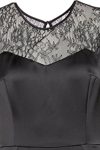 50380740 für Kleid 001 Schwarz HUGO Damen Kovetta 1 dwXzSzx