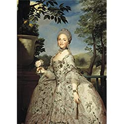 Oil Painting 'Mengs Anton Rafael Maria Luisa Of Parma Princess Of Asturias Ca. 1765 ' Printing On Perfect Effect Canvas , 10 X 14 Inch / 25 X 35 Cm ,the Best Foyer Decor And Home Gallery Art And Gifts Is This Vivid Art Decorative Prints On Canvas