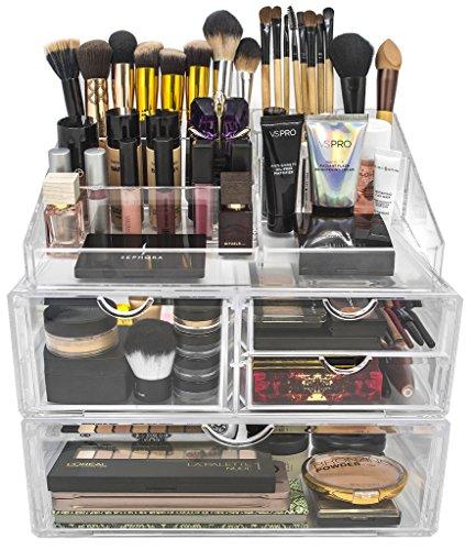 Make your own acrylic makeup organizer