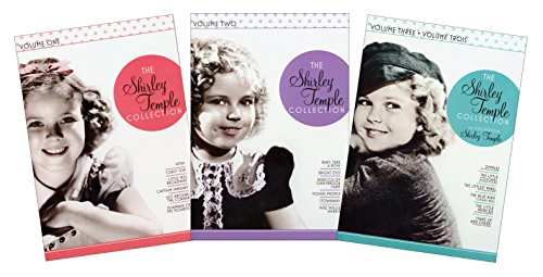 The Shirley Temple Collection (Heidi, Curly Top, Little Miss Broadway, Captain January, Just Around The Corner, Susannah of the Mounties, Baby, Take a Bow, Bright Eyes, Rebecca of Sunnybrook Farm, Young People, Stowaway, Wee Willie Winkie, Dimples, The Little Colonel, and The Littlest Rebel)